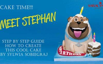 CREATE STEPHAN A PUG CAKE