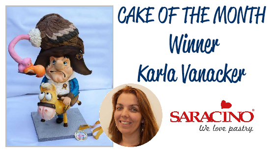 CAKE OF THE MONTH MAY 2018