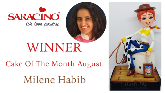 CAKE OF THE MONTH AUGUST 2018