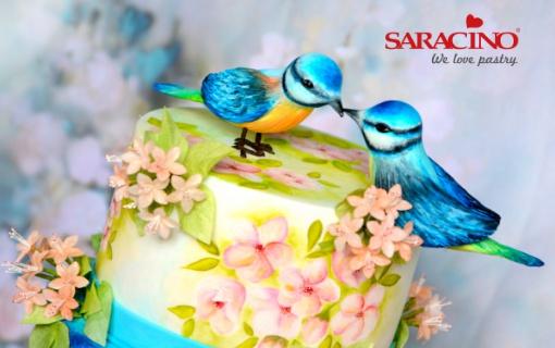BIRDS IN LOVE – WEDDING CAKE