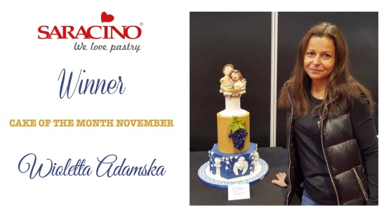CAKE OF THE MONTH NOVEMBER 2018