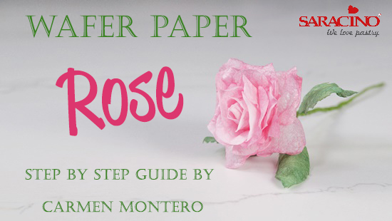 WAFER PAPER ROSE