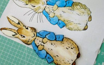 HAND PAINTED PETER RABBIT