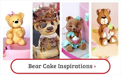 BEAR CAKE INSPIRATIONS