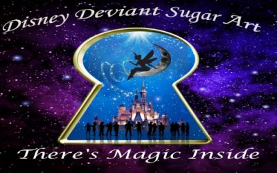 DISNEY DEVIANT SUGAR ART COLLABORATION