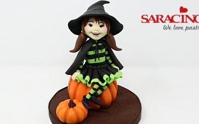 TRICK OR TREAT CUTE WITCH