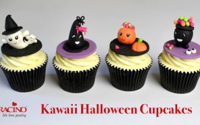 KAWAII HALLOWEEN CUPCAKE TOPPERS