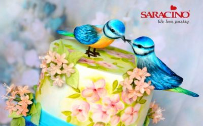 BIRDS IN LOVE – WEDDING CAKE