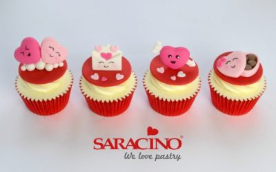 VALENTINE'S CUPCAKE TOPPERS
