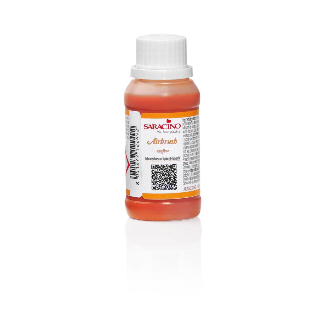 Liquid Airbrush Food Colour ORANGE | Saracino
