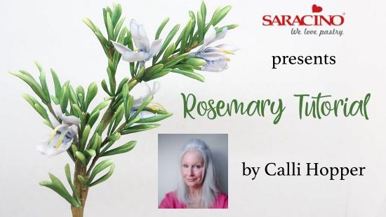 CREATE ROSEMARY FLOWER