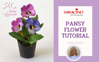 PANSY FLOWER TUTORIAL
