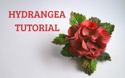 HYDRANGEA FLOWER TUTORIAL
