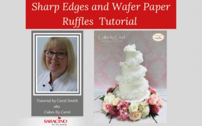 SHARP EDGES & WAFER PAPER RUFFLE TUTORIAL