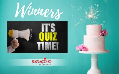 Quiz winners – Favourite cake