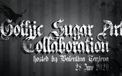 GOTHIC SUGAR ART COLLABORATION