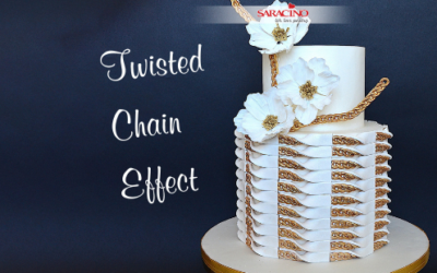 TWISTED CHAIN PATTERN CAKE