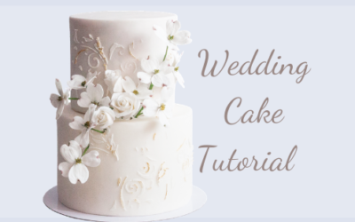 BEAUTIFUL WEDDING CAKE TUTORIAL