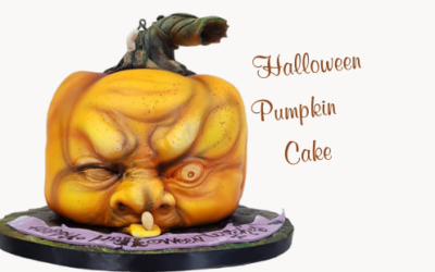 HALLOWEEN PUMPKIN CHOCOLATE CAKE VIDEO TUTORIAL