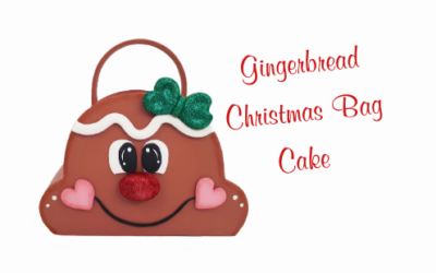 GINGERBREAD CHRISTMAS BAG