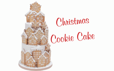 CHRISTMAS COOKIES CAKE