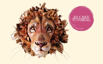 3D LION CAKE TUTORIAL