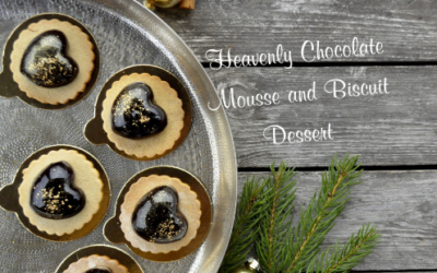 CHOCOLATE MOUSSE AND BISCUIT DESSERT