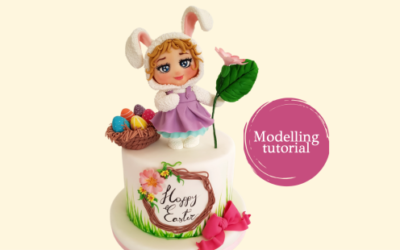 CUTE EASTER BUNNY MODELLING TUTORIAL