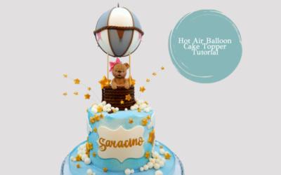 HOT AIR BALLOON CAKE TUTORIAL