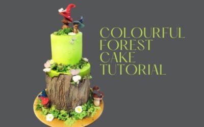 COLOURFUL FOREST CAKE