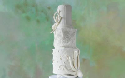 SEA THEMED WEDDING CAKE