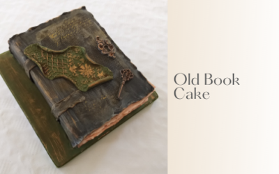 OLD BOOK CAKE