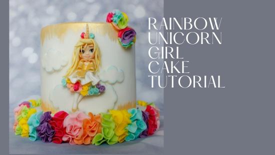 RAIBOW UNICORN GIRL