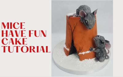 MICE HAVE FUN CAKE TUTORIAL